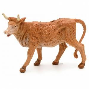 Animali presepe: Bue in piedi 6,5 cm Fontanini