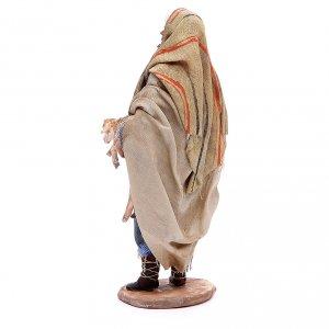 Buon pastore 18 cm Angela Tripi terracotta s3