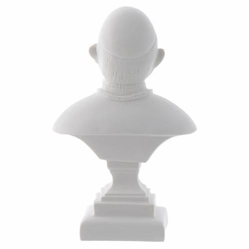 Buste Pape Jean XXIII 16 cm marbre s2