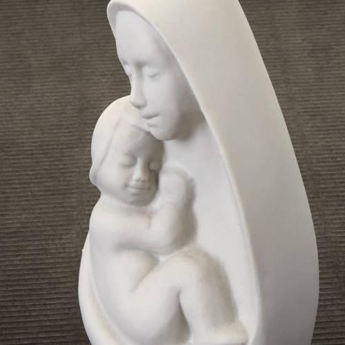 Busto Madonna con bambino s3