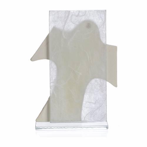 Cadre Communion Fille blanc 11,5x8 cm s2