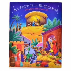Libri per bambini e ragazzi: Calendario dell'Avvento 3D La notte di Betlemme