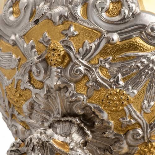 Calice e Pisside in bronzo s10