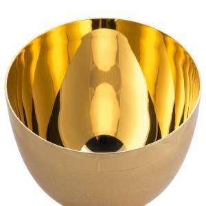 Calice ottone dorato zigrinato s6