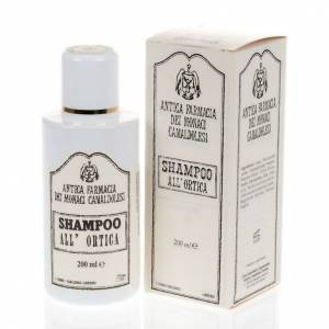 Natural shampoos, shower gels, soaps and toothpastes: Camaldoli Nettle Shampoo (200 ml)