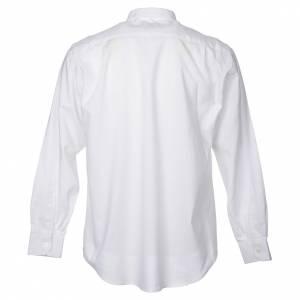 Camicie Clergyman: Camicia clergy manica lunga misto bianca