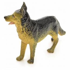 Cane lupo 12 cm presepe s2