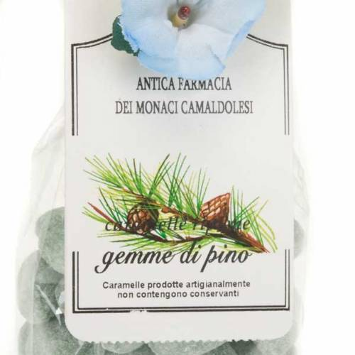 Caramelle gemme di pino confezione regalo 250 gr Camaldoli s2