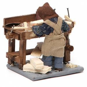 Carpenter with workbench, Neapolitan Nativity 10cm s3