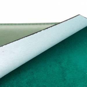 Carpeta portaritos de piel verde s4
