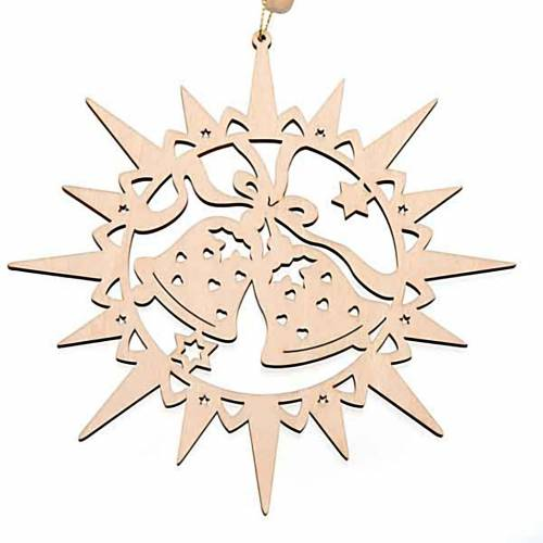 Carved star with bells s1