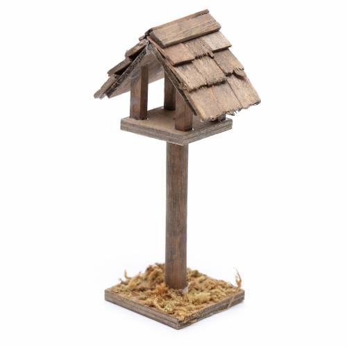 Casetta degli uccelli presepe 11x5x3 cm s2