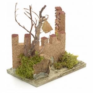 Castillo medieval para pesebre s2