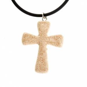 Ceramic cross pendant s3