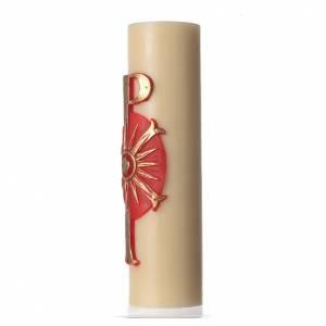 Candele, ceri, ceretti: Cero mensa bassorilievo diam cm 8 Pax