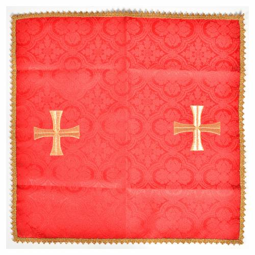 Chalice cover with golden cross s3