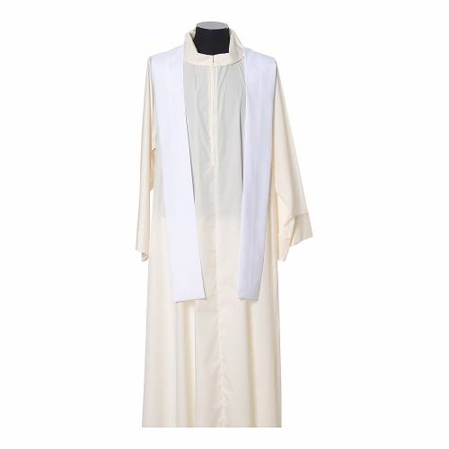 Chasuble 100% polyester IHS croix épis s11