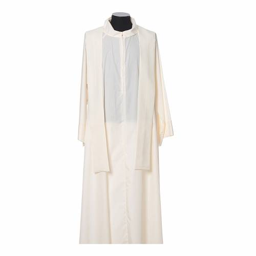 Chasuble 100% polyester IHS croix épis s8
