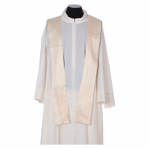 Chasuble 100% pure soie shantung s9
