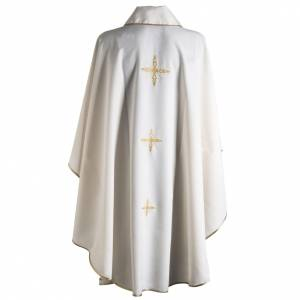 Chasuble golden cross embroidery s9
