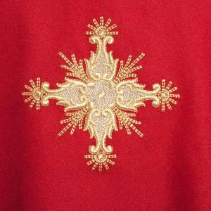Chasuble liturgique et étole croix s4