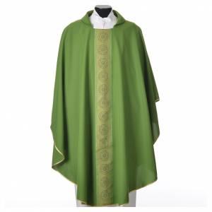 Chasuble polyester croix décors s6