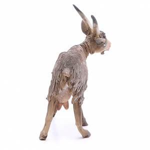 Chèvre broutant 18cm crèche Angela Tripi s3
