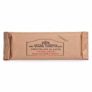 Chocolat des Trappistes: Chocolat au lait sans sucre ajouté 100g Camaldoli