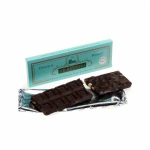 Chocolate trapense: Chocolate amargo con avellanas 150 gr. Trapense