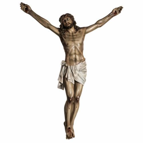 Christ en agonie pâte à bois mesures variées s1