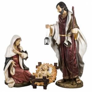 Heilige Familie: Christi Geburt Fontanini Krippe 180 cm Harz