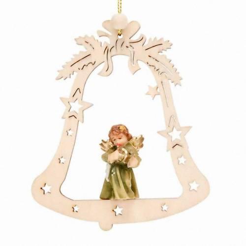 Christmas decor angel on a bell s1