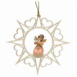 Christmas decoration angel with horn s1
