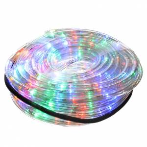 Christmas lights: Christmas lights, tube of 15m, multicoloured, for indoor/outdoor, programmable