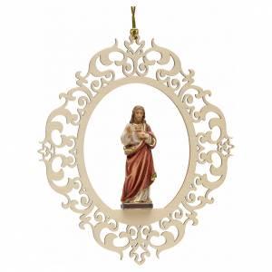 Christmas tree decor Sacred Heart of Jesus s1