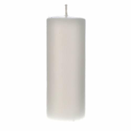 Cierge cire blanche 130x50mm (confection) s1