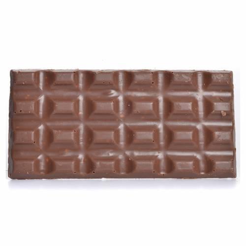Cioccolato al latte con nocciole tritate 50 gr Camaldoli s2
