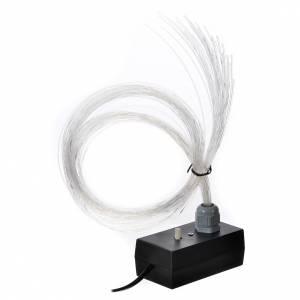 Éclairage led fondu tremblant 45 fils fibre optique s5