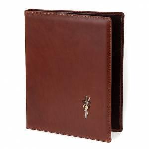 Couvertures pour rites: Classeur porte rites cuir pour liturgie