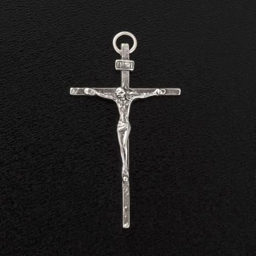 Colgante Crucifijo de plata 925 s3