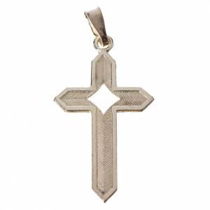 Colgantes, cruces y broches: Colgante de plata efecto espiga