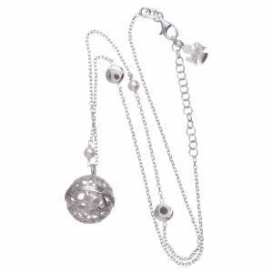 Collana AMEN argento 925 chiama Angeli perle s3