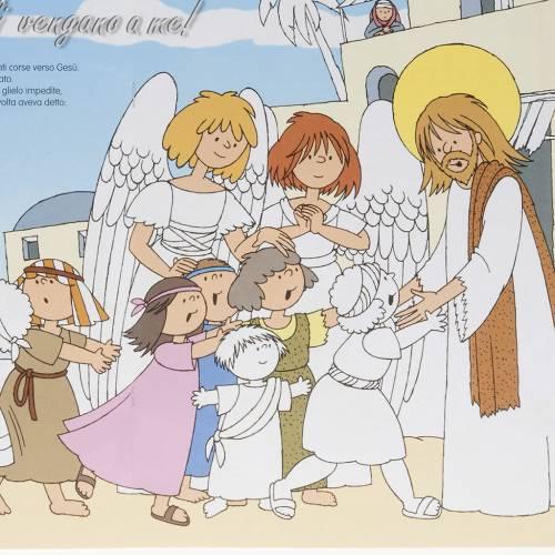 Colora gli angeli amici di Gesù s3