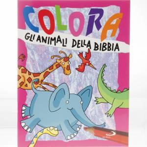 Libri per bambini e ragazzi: Colora gli animali della Bibbia