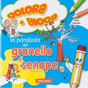 Livres pour enfants: Coloriage,la parabole du grain de moutarde ITA