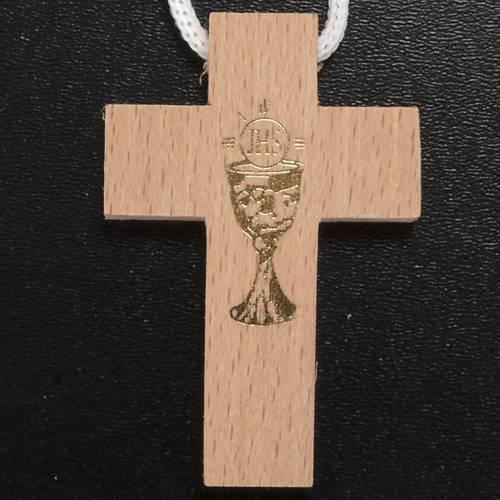 Confección Prima Comunión porta rosario, cruz s2