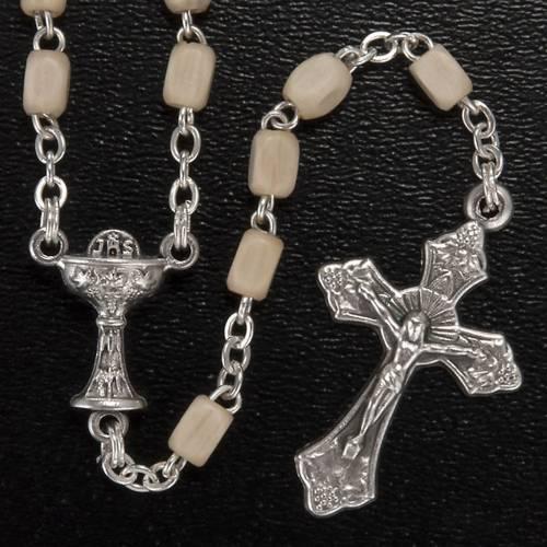 Confezione Prima Comunione crocetta rosario portarosario s3