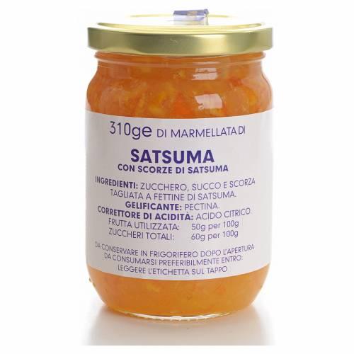 Confiture mandarine satsuma 310g Monastère Carmélites s1