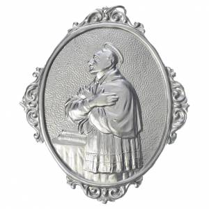 Confraternity Medals: Confraternity Medal in brass, Saint Charles Borromeo