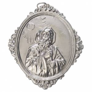 Confraternity Medal in brass, Saint Francis of Paola s1